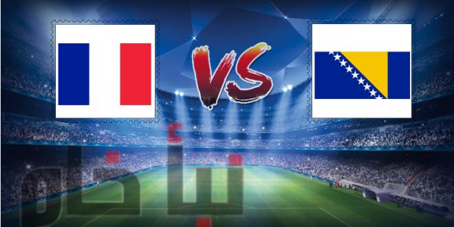 فرنسا ضد البوسنة