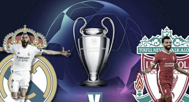 تشكيل ليفربول ضد ريال مدريد اليوم