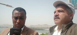 الشاعران محمد جاد المولي ومحمد عبد القوي