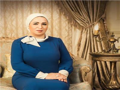 السيدة انتصار السيسى تقدم التهنئة للوطن العربى والاسلامى بحلول رمضان