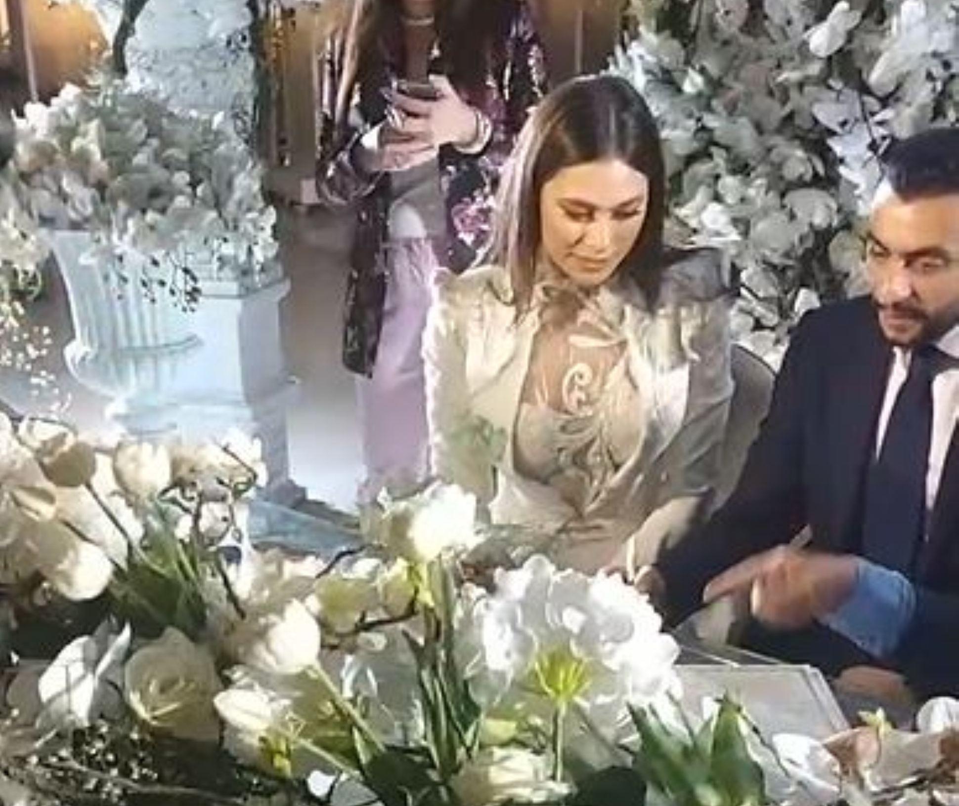 زوج هاجر احمد