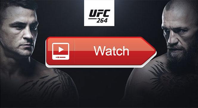 مباراة كونور ماكجريجور ضد داستن بورييه UFC 264 بث مباشر